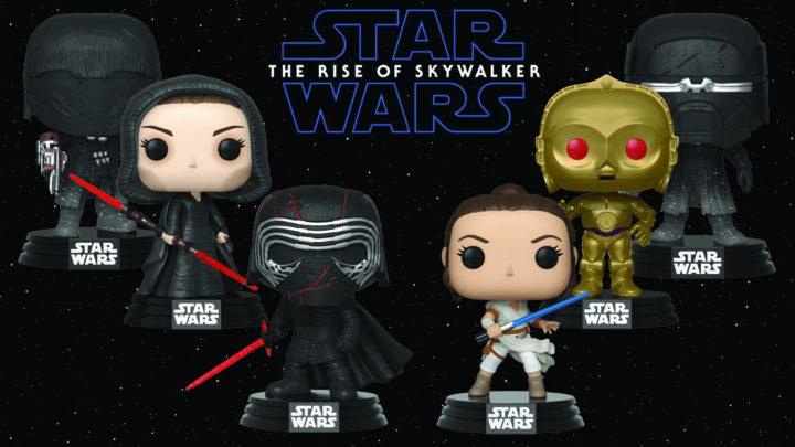 Dark Side Rey Galaxtic Pop